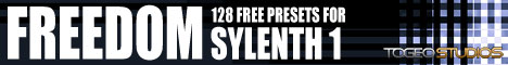 Freedom 128 - A set of 128 fre presets for Sylinth 1