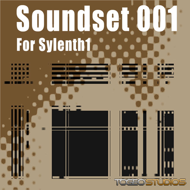 Togeo Studios - Soundset 1 Complete bundle for Sylenth1 VST.