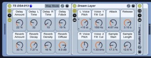 Togeo Studios - Dreamscapes 4 instrument rack in Ableton Live.