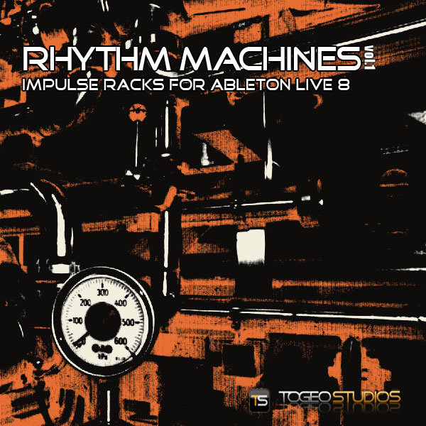 Togeo Studios - Rhythm Machines cover
